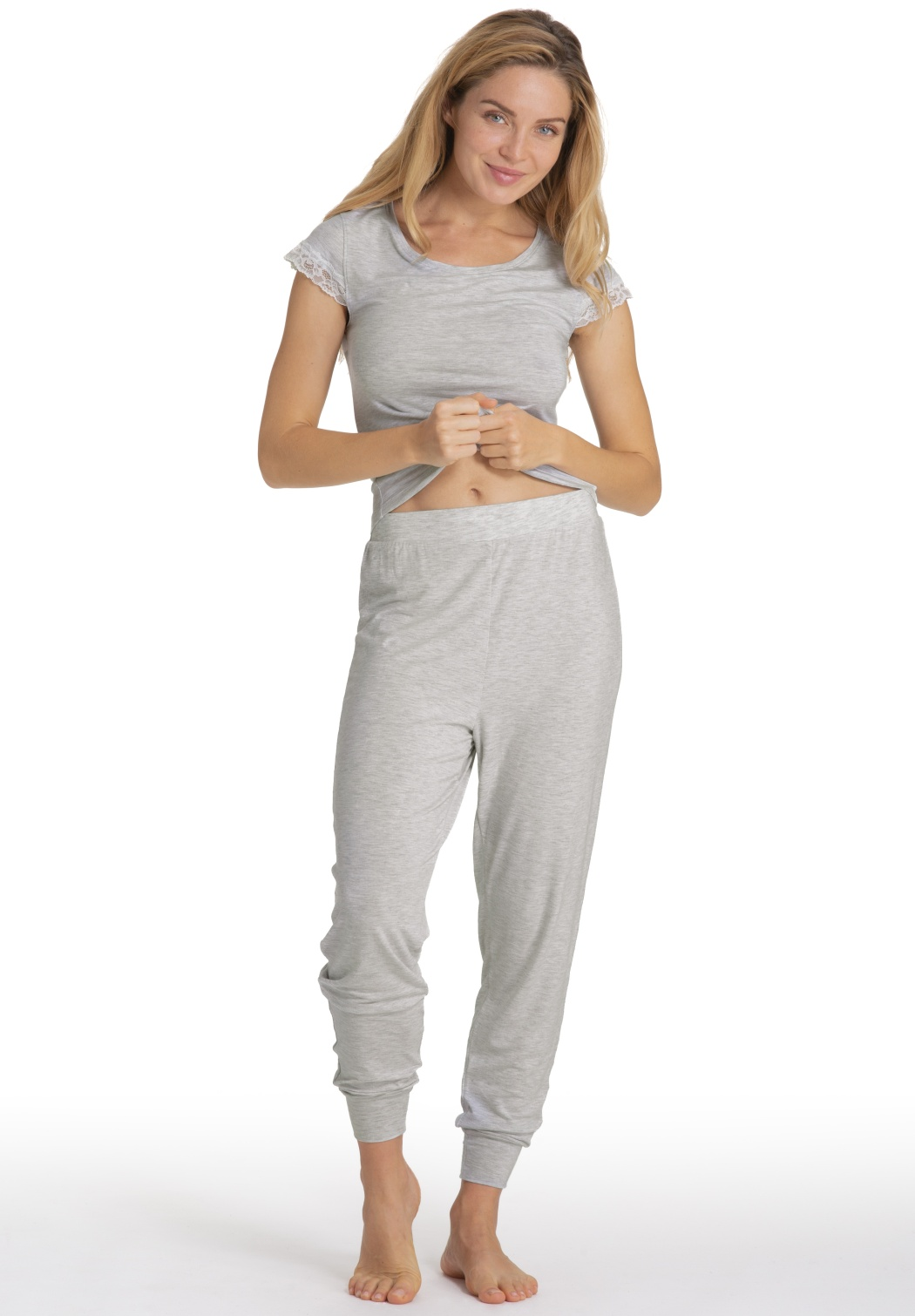 Dámske pyžamo Dorina D000145 + D000926 XXXL šedá