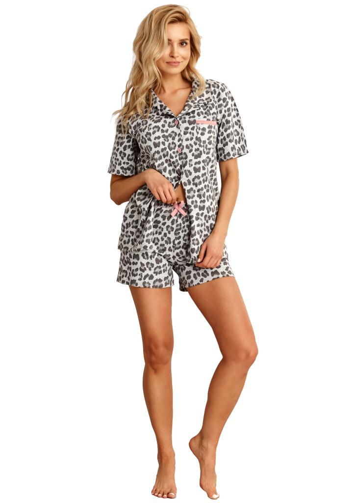 Dámske pyžamo Taro 2154 S šedá
