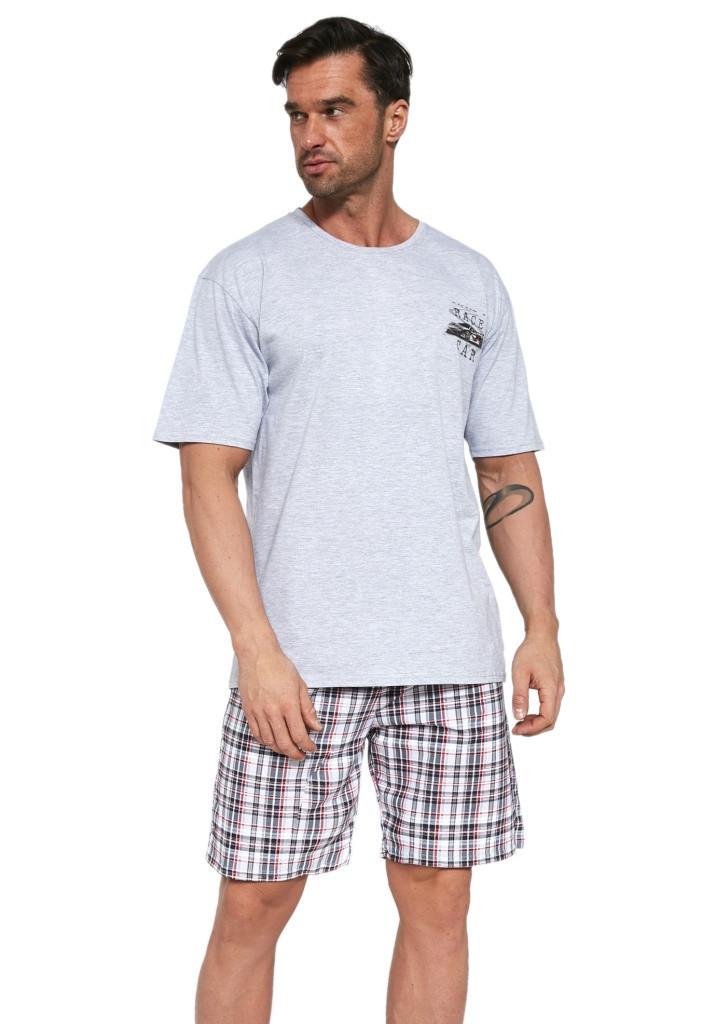 Pánske pyžamo Cornette 326/103 L šedá