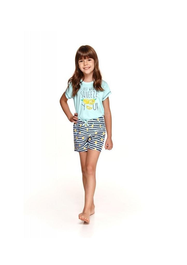 Detské pyžamo Taro Hania 2201 134 Máta peprná