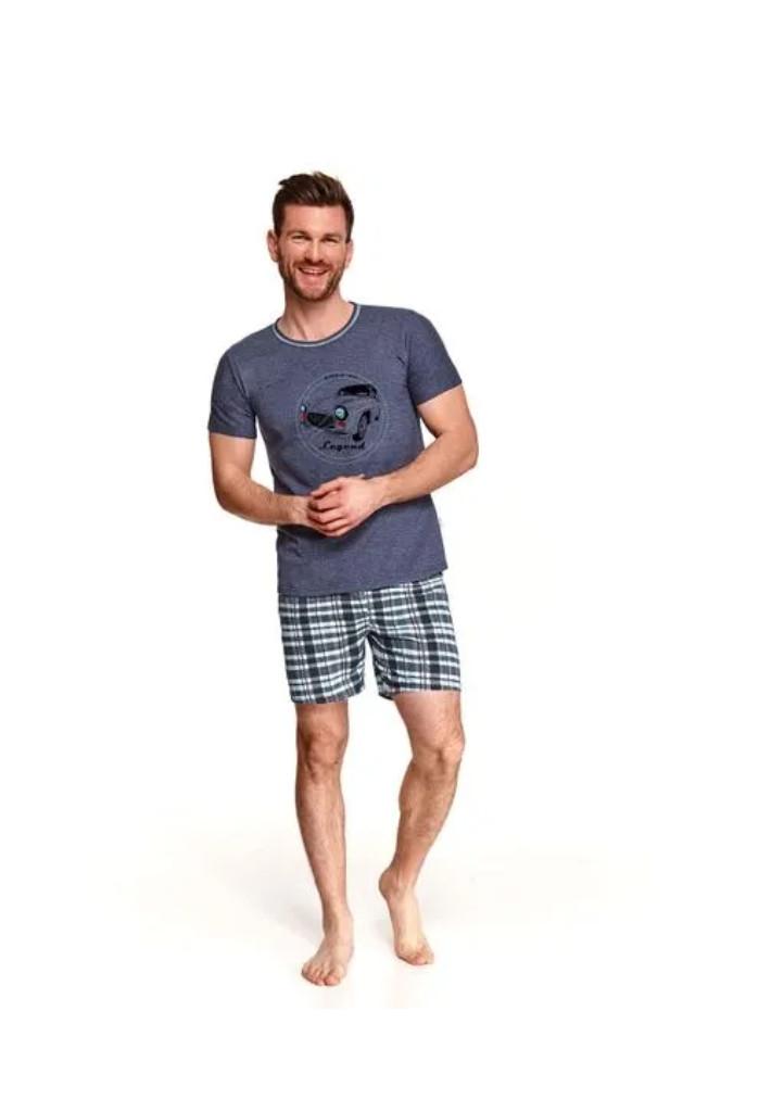 Pánske pyžamo Taro Szymon 2086 L Modrá