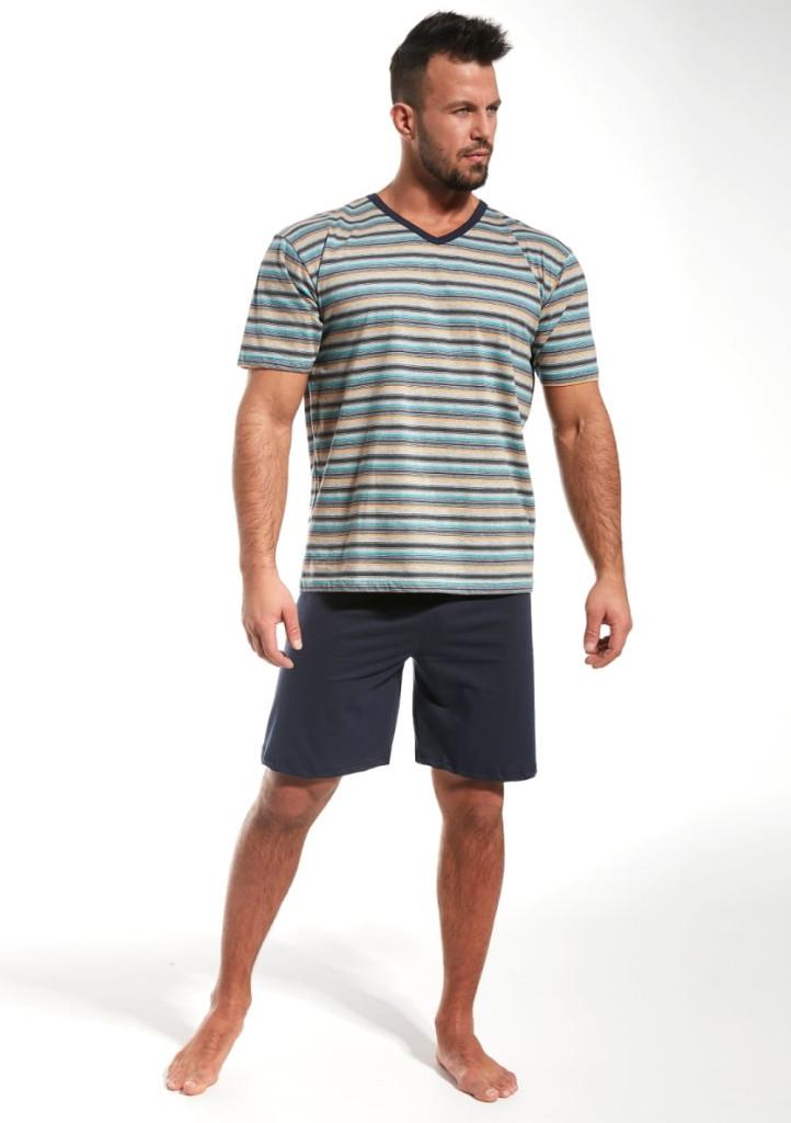 Pánske pyžamo Cornette 330/18 M modrá