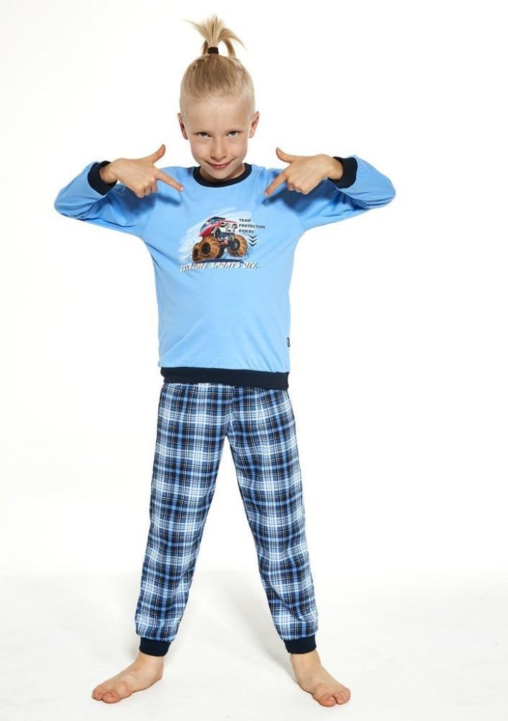 Detské pyžamo Cornette 593/116 98/104 Modrá