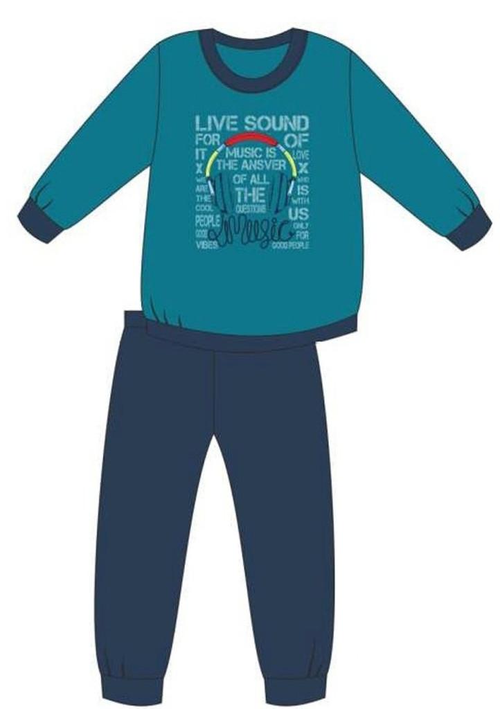 Detské pyžamo Cornette 267/121 134/140 Tm. Modrá