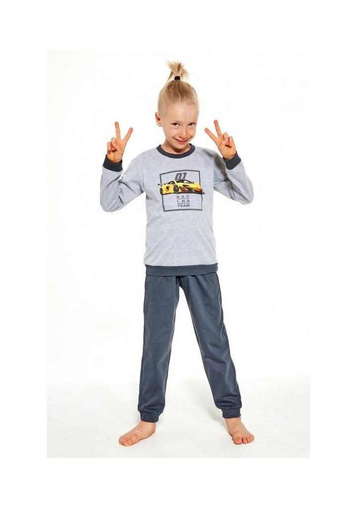 Detské pyžamo Cornette 267/126 134/140 šedá