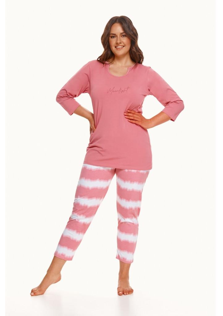 Dámske pyžamo Taro 2606 XXL Růžová