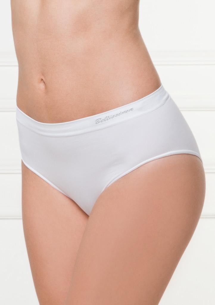 Kalhotky Bellissima Midi slip 025 S/M Bílá