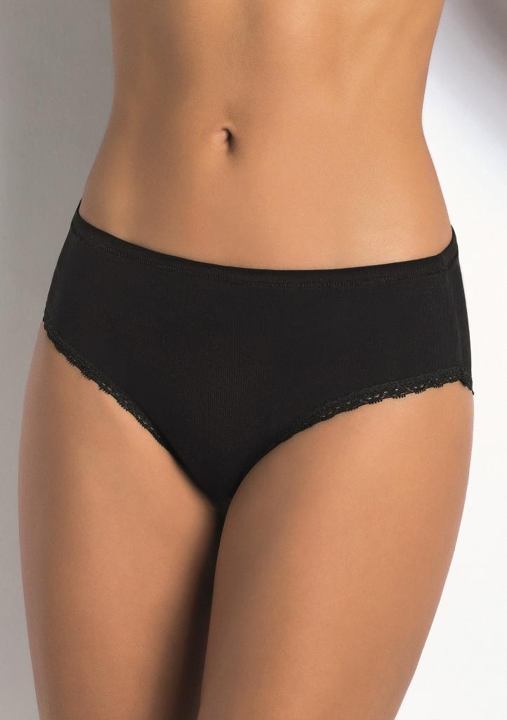 Dámské kalhotky Sielei 1259 XL Černá
