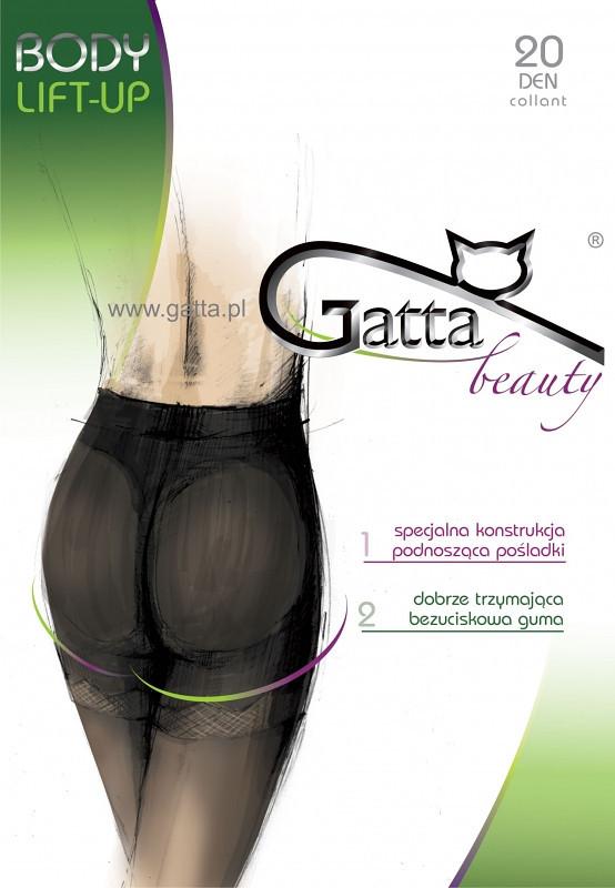 Punčochové kalhoty Gatta Body Lift-up 20 den Barva: béžová/odstín béžové, Velikost: 3-M