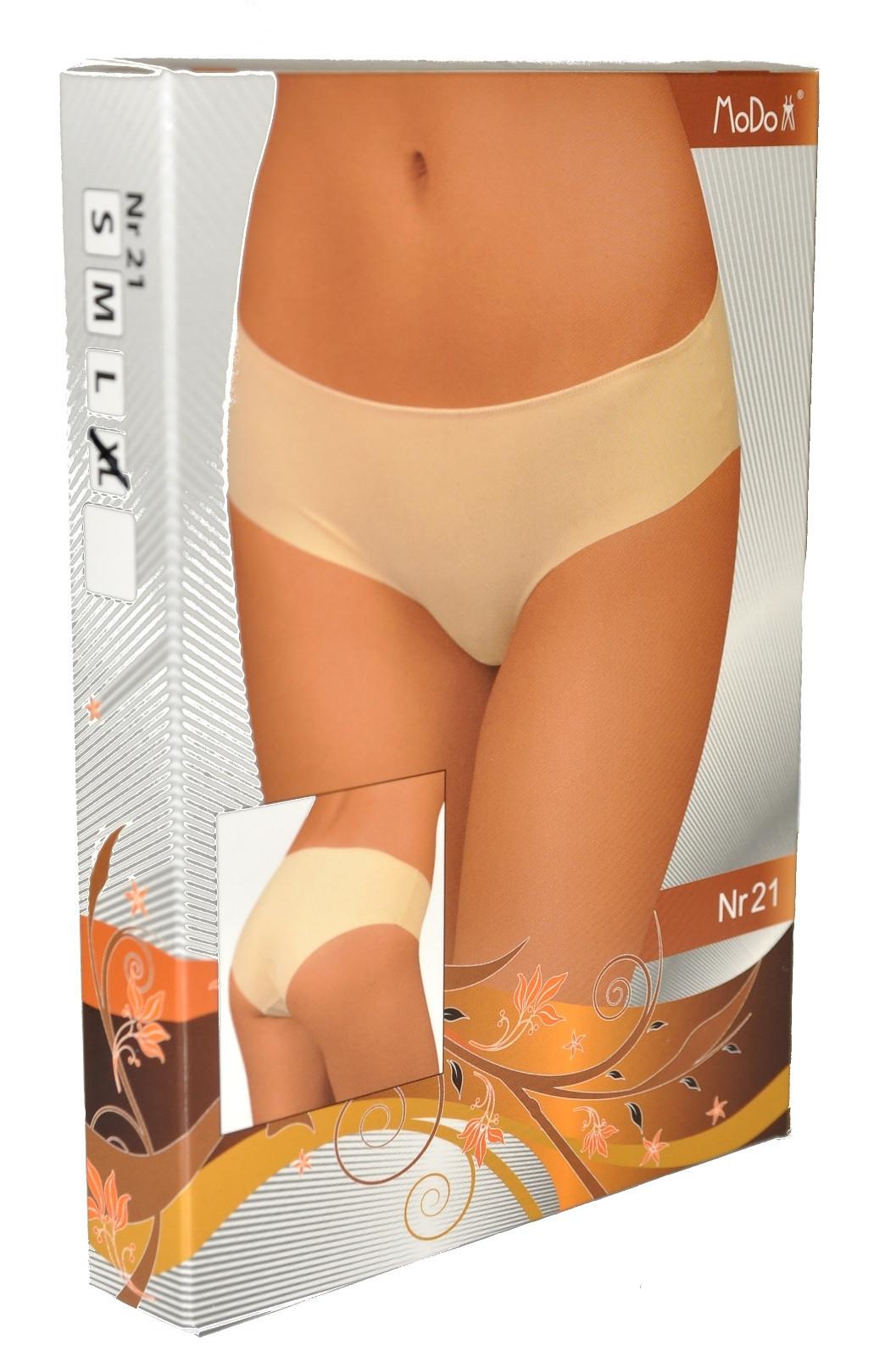 Kalhotky Modo nr 21 Barva: bílá, Velikost: L