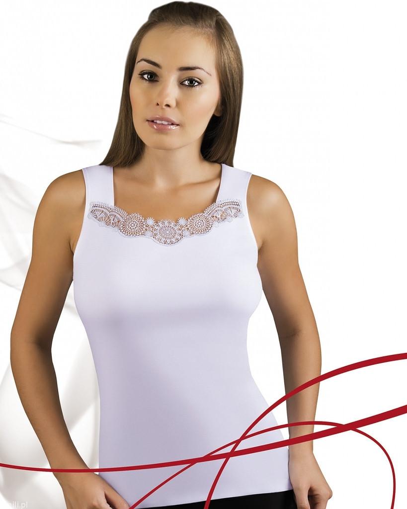 Dámská košilka Emili Milia S-XL bílá bílá XL