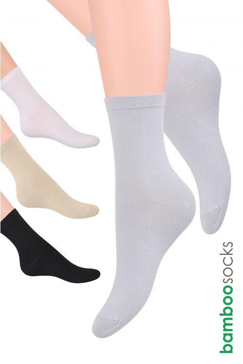 Dámské ponožky Steven Bamboo art.108 tmavě modrá 35-38