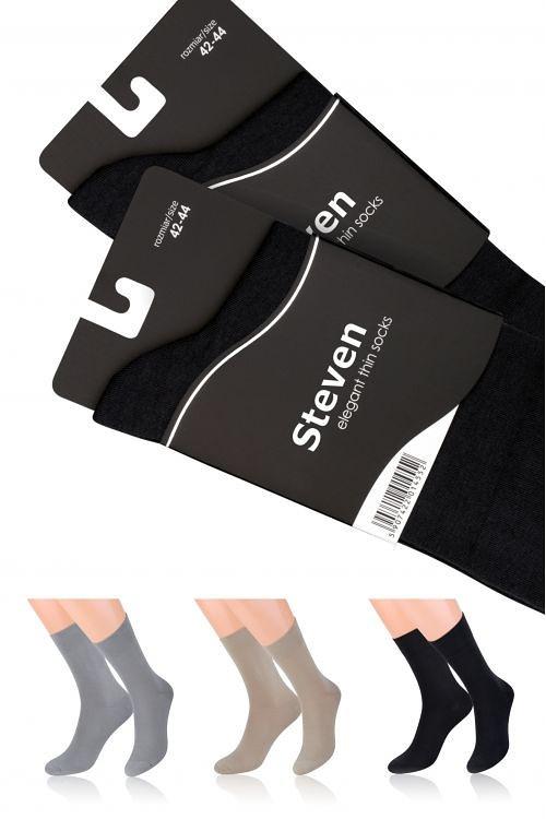 Pánské ponožky Steven Elegant 107 béžová 42-44