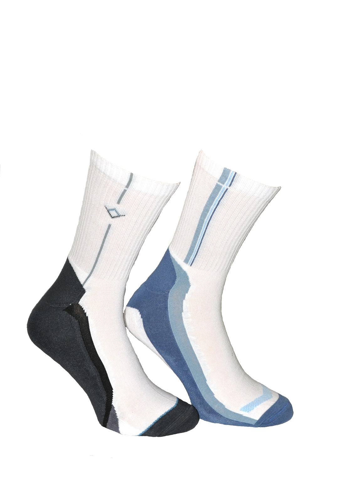 Pánské ponožky Terjax Free Sport 7049 tmavá-mix vzorů 29-30