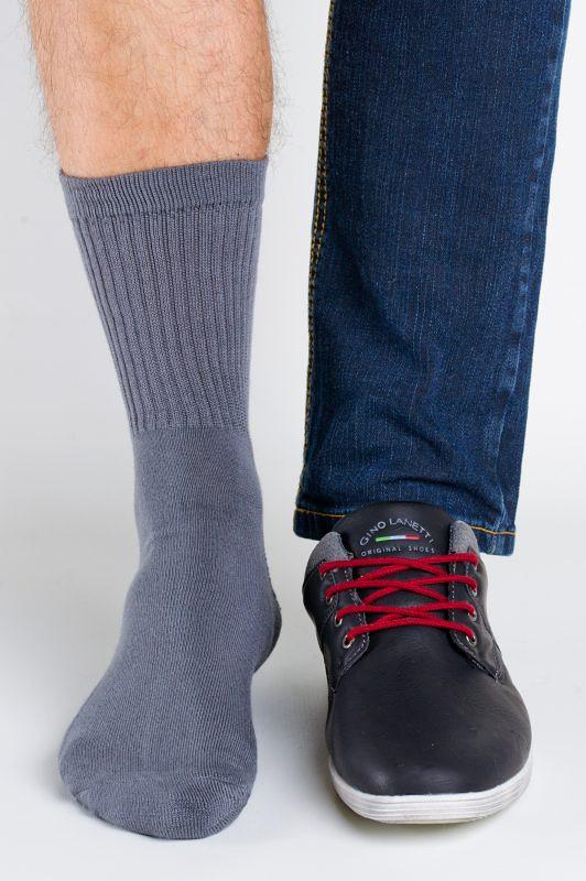 Pánske ponožky Regina Socks Polofroté Bambus čierna 39-42