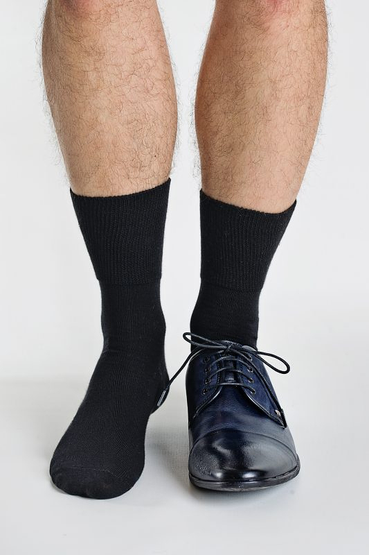 Pánské ponožky Regina Socks Frote Bambus černá 39-42
