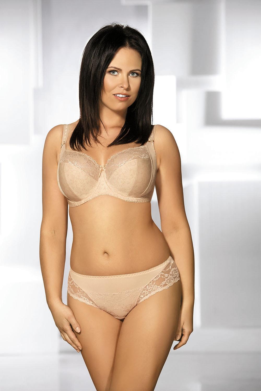 Kalhotky Ava 1130 S-XL Barva: béžová, Velikost: M