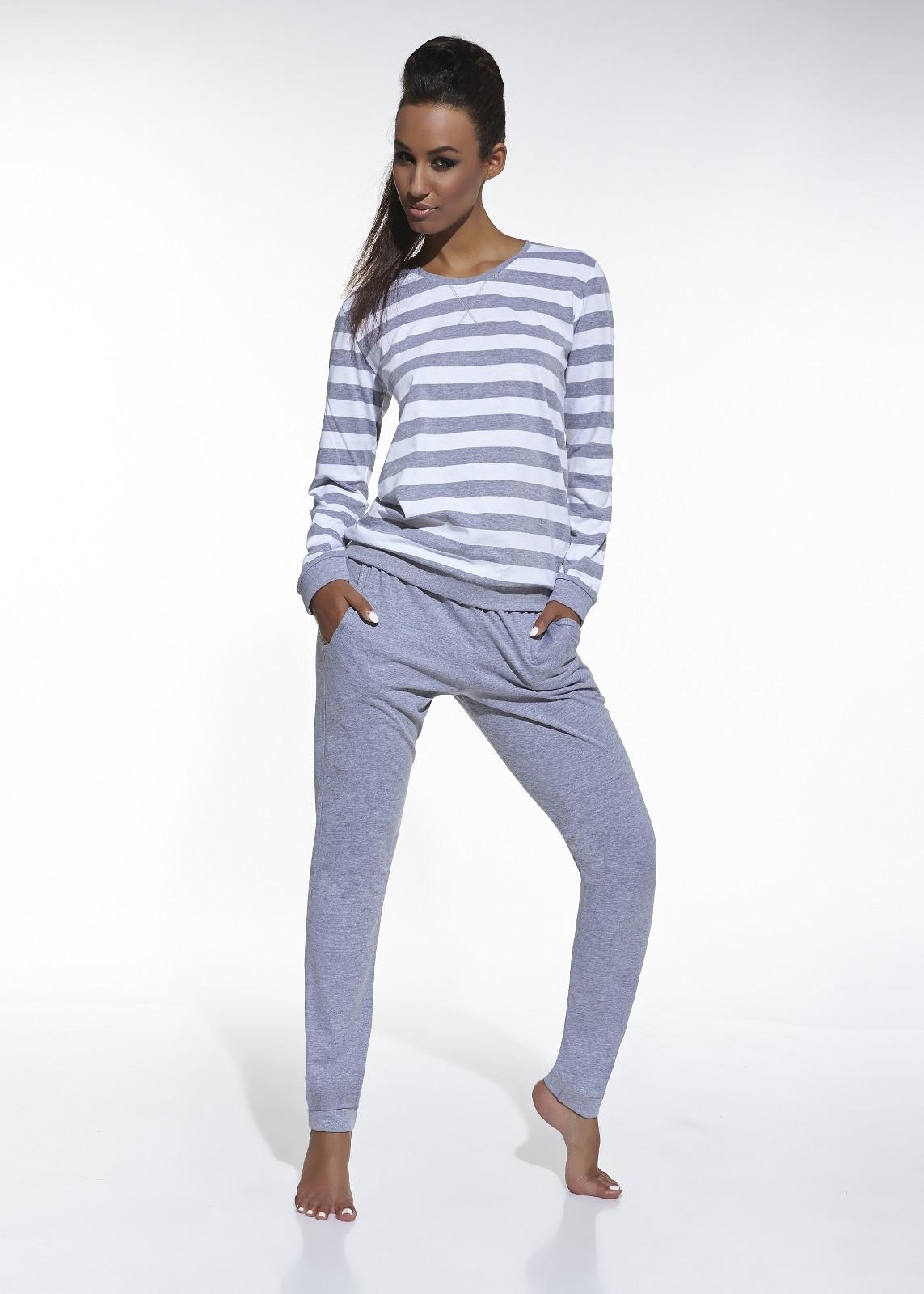 Dámske pyžamo Cornette 634/30 Molly dl / r biely S