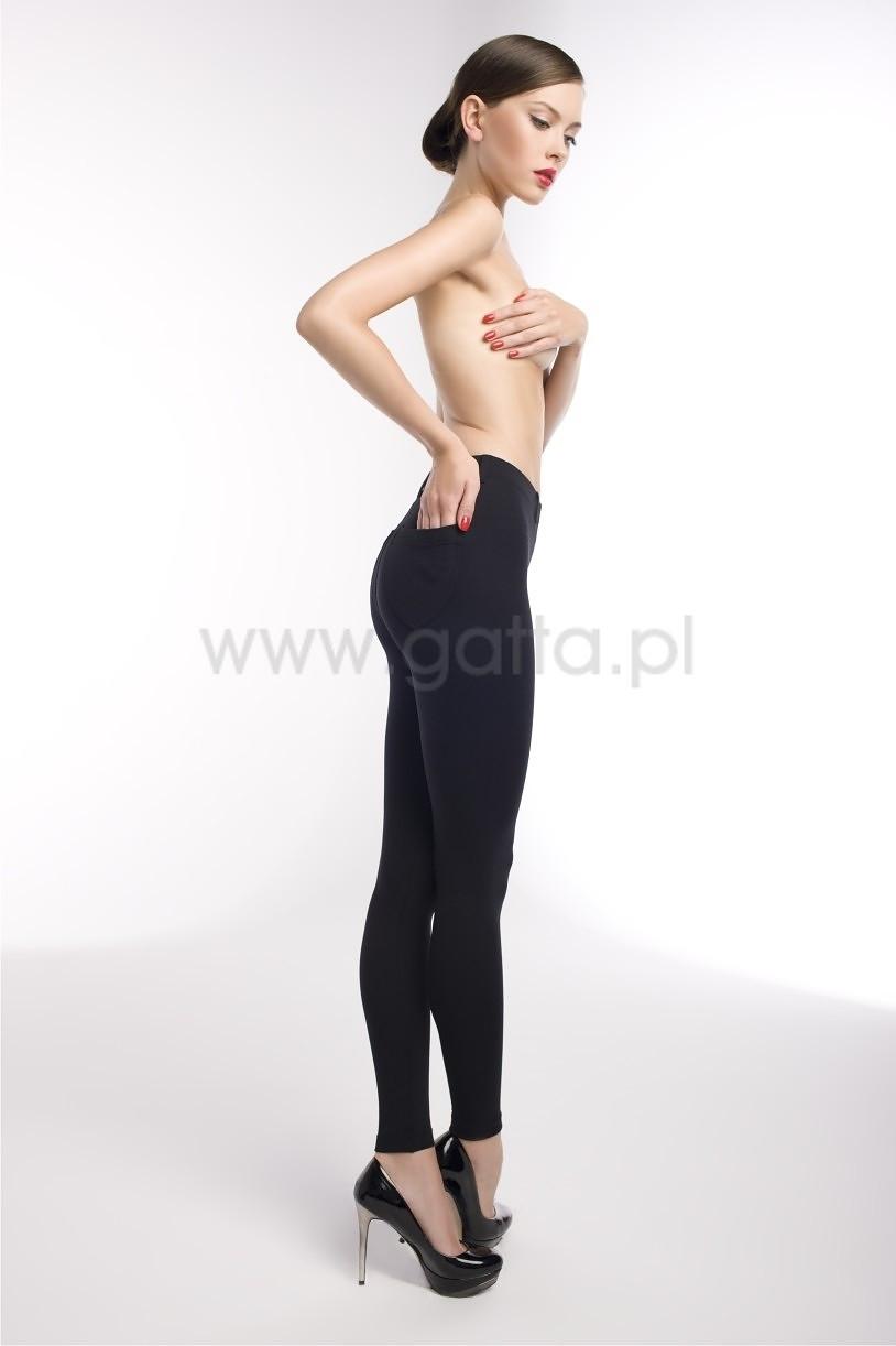 Čierne dámske legíny Gatta Next Leggins 44531 černá M