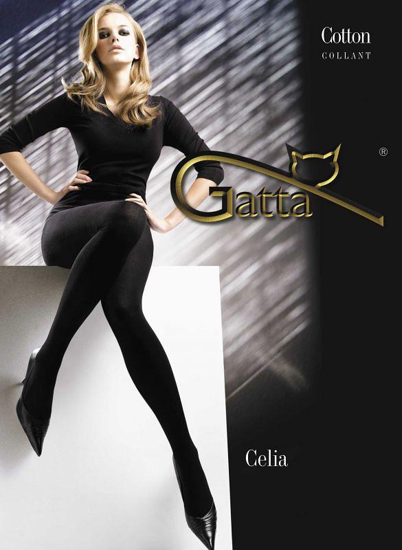 Dámske pančuchové nohavice Gatta Celia 2-4 nero/černá 3-M