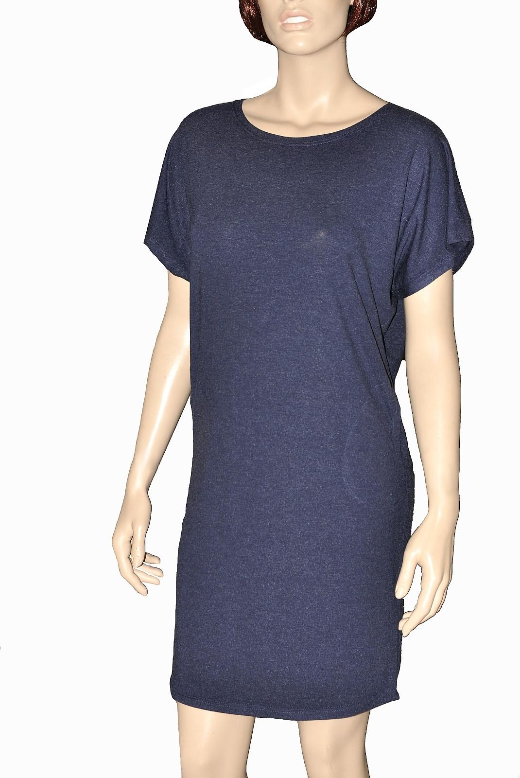 Dámská noční košile De Lafense Paula 523 tmavě modrá L