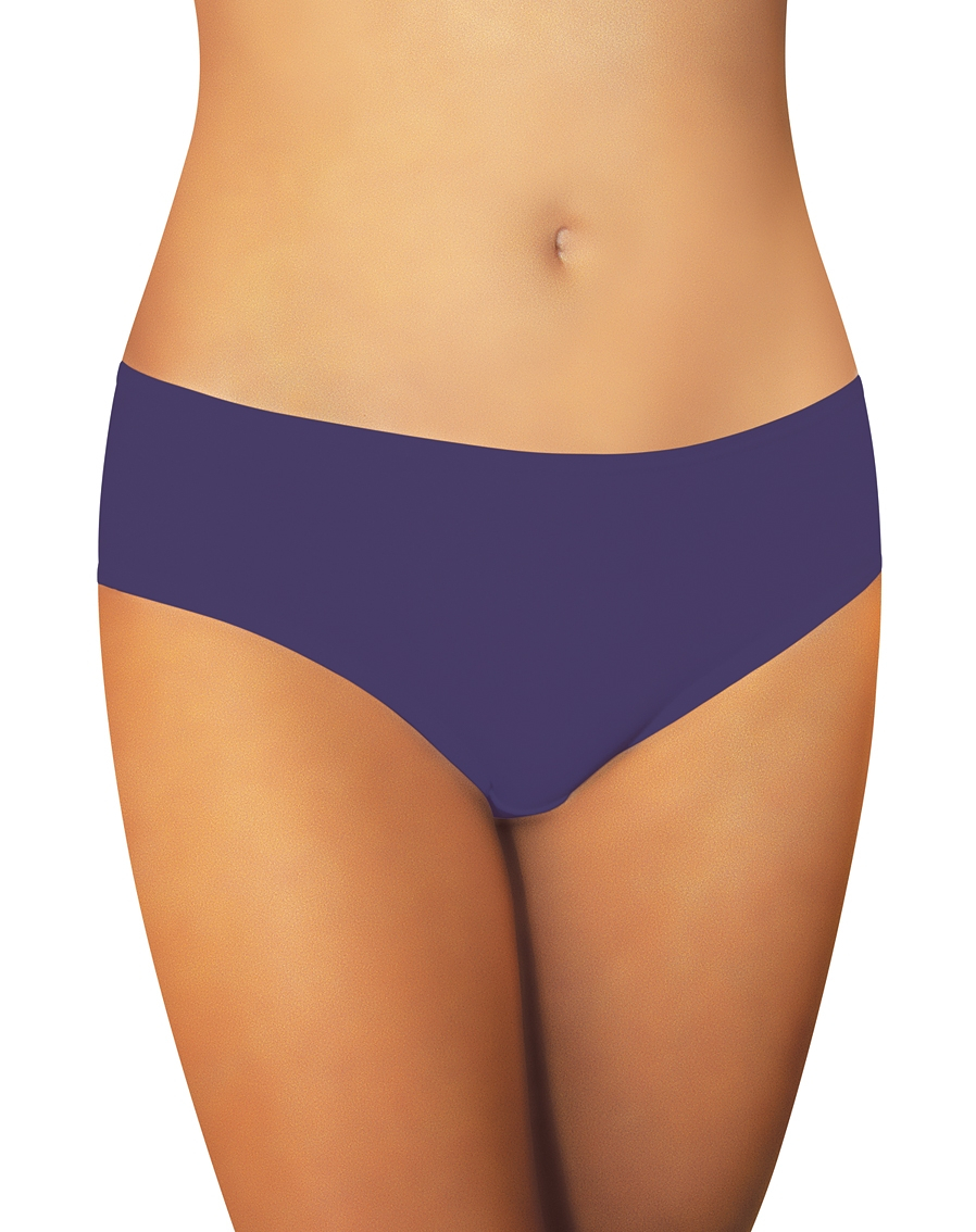 Hladké dámské kalhotky Funny Day Nikola MIDI A'2 tmavě modrá XL