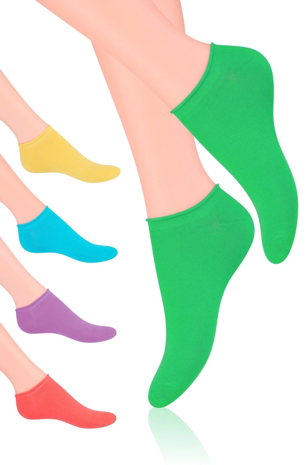 Dámské ponožky Steven art.041 žlutá 38-40