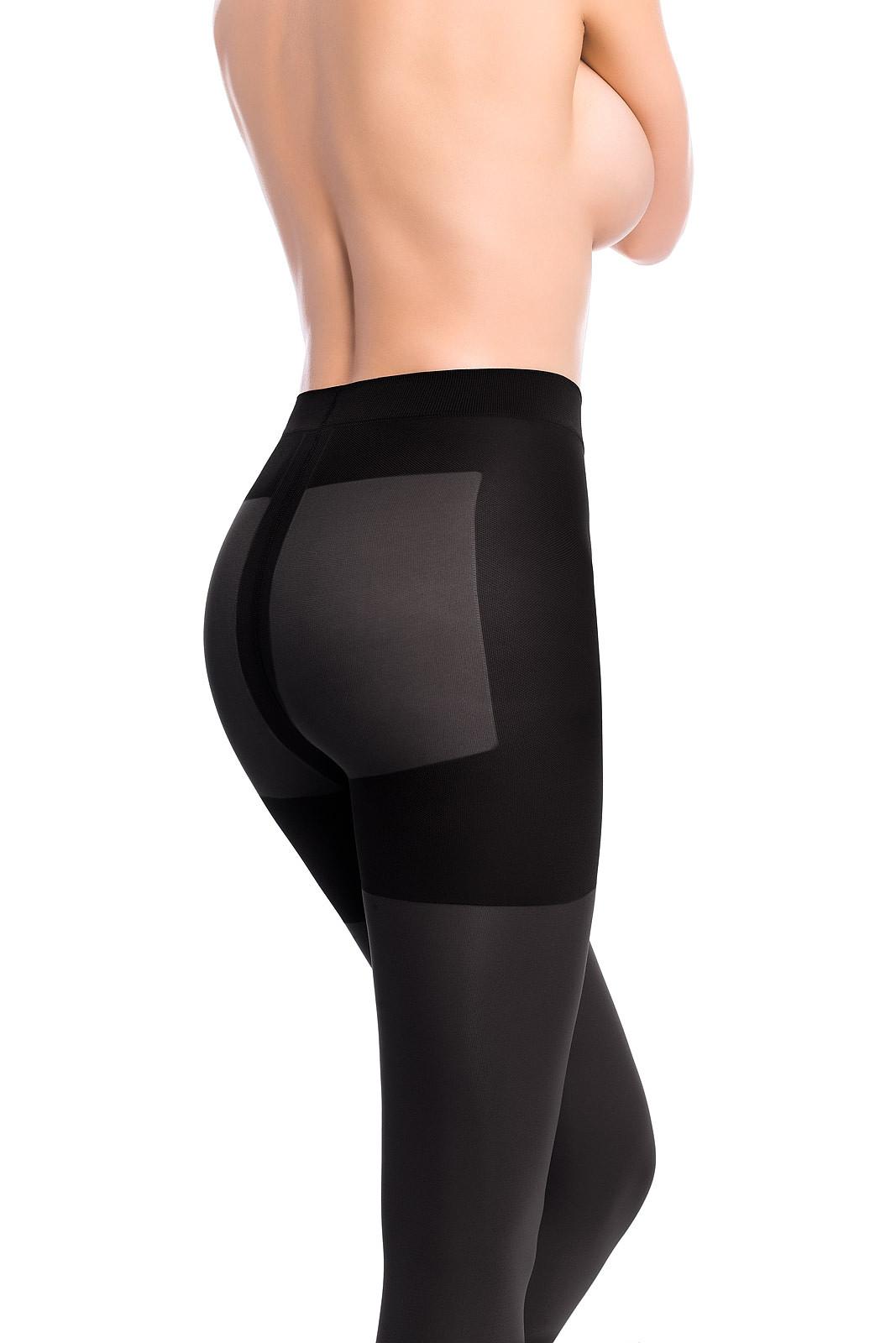 Dámské punčochové kalhoty Mona Micro Push-Up 100 den 2-4 černá