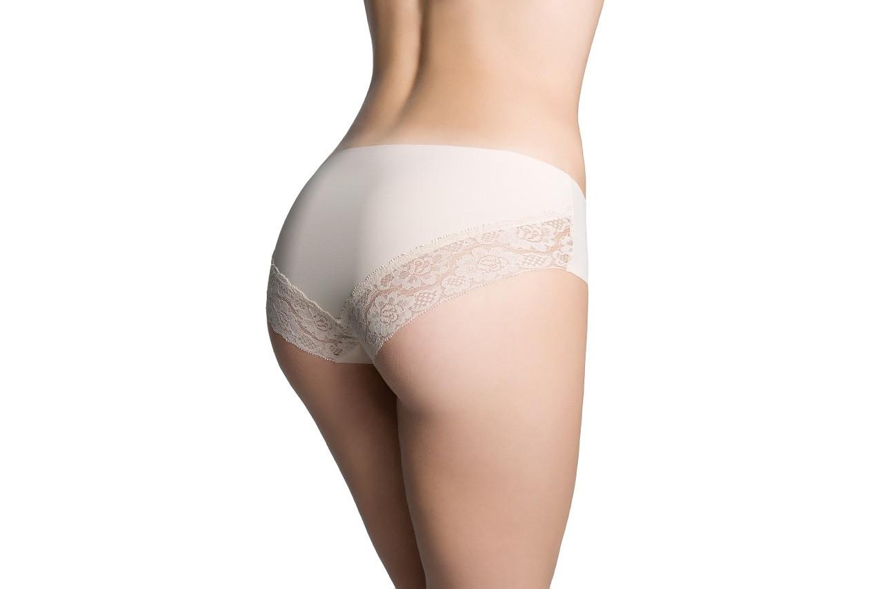 Dámské kalhotky Julimex Cheekie Panty bílá XL