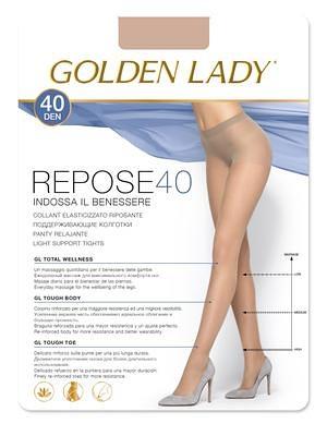 Punčochové kalhoty Golden Lady Repose 40 den Barva: odstín béžové, Velikost: 2-S