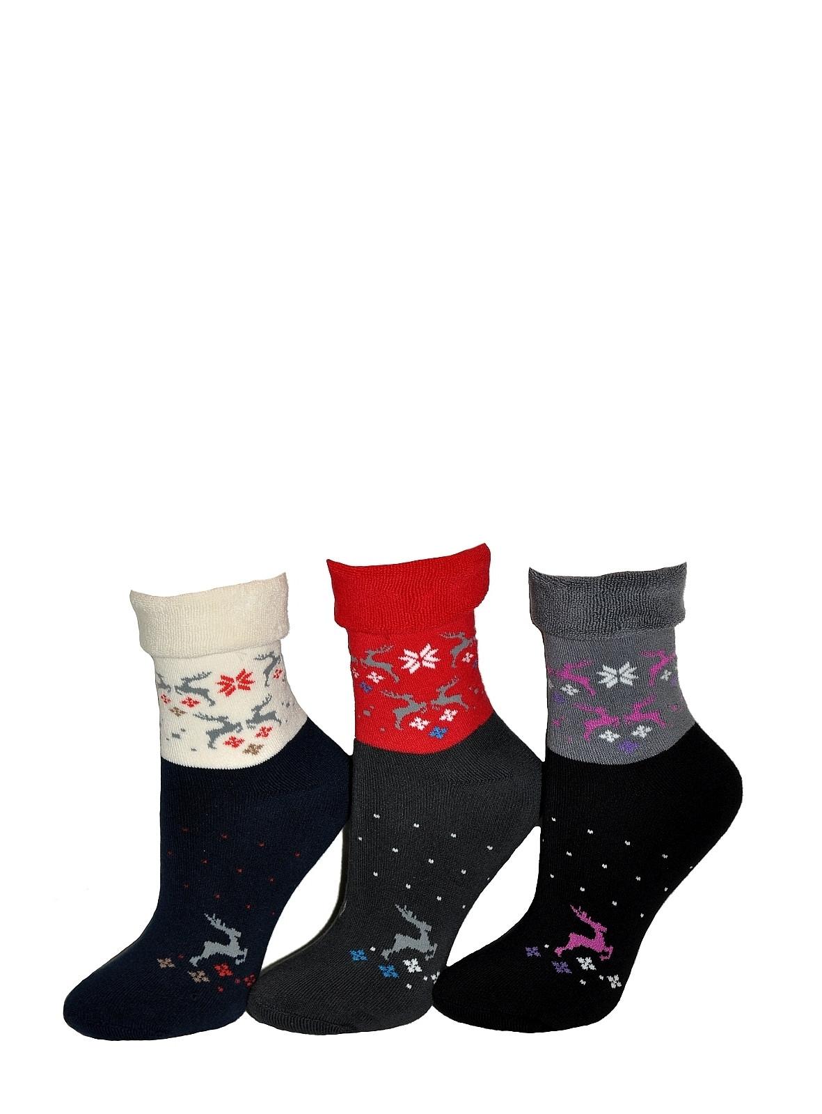 Dámské ponožky Tak Winter 1320 froté černá 35-37