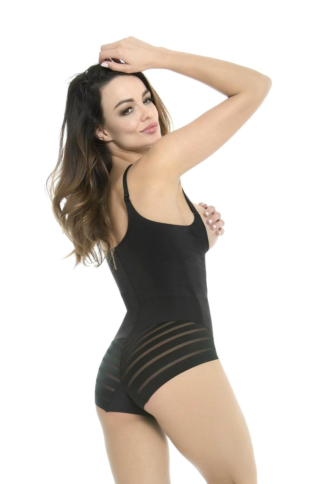 Body Julimex Shape & Chic Pod Biust 119 čierna XXL