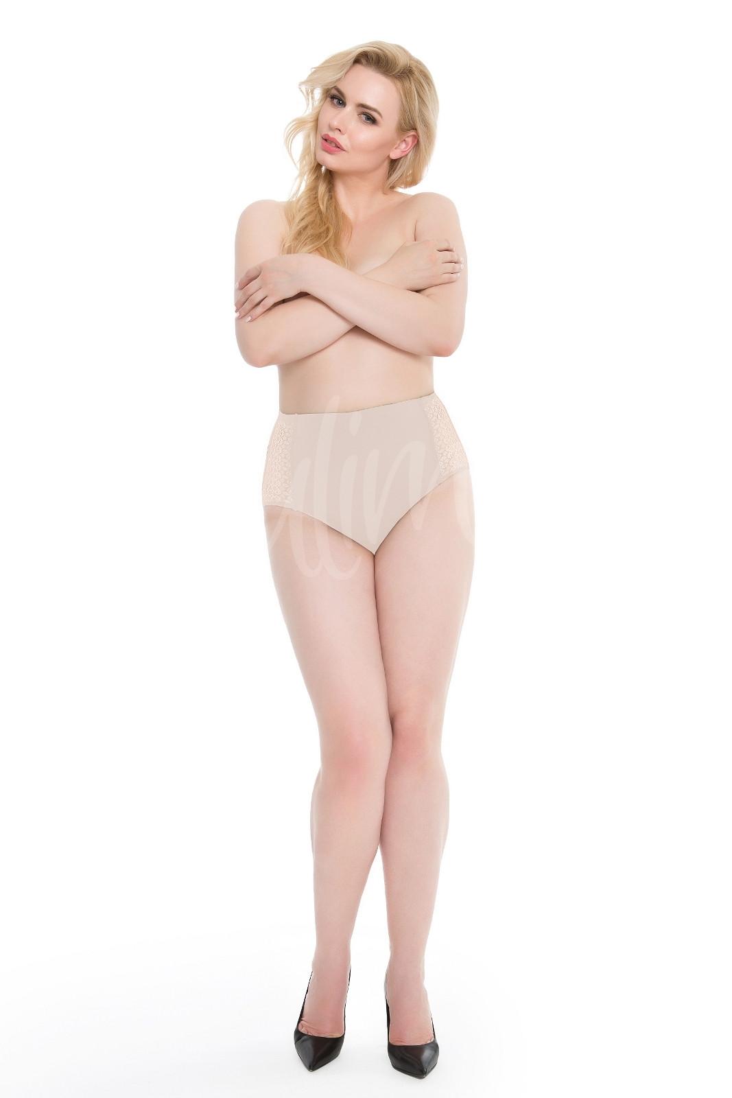 Dámské kalhotky Julimex Opal Panty bílá 3XL