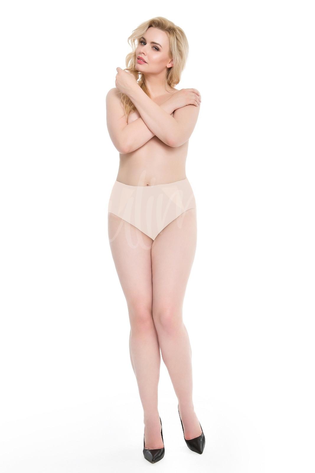 Dámské kalhotky Julimex Pearl Panty bílá XL