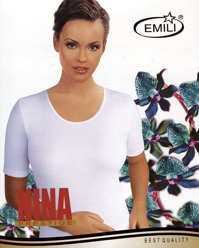 Košilka Emili Nina Barva: černá, Velikost: XXL