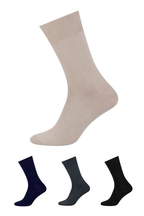 Ponožky Steven Garniturowe Bambus art.149 Barva: tmavě šedá, Velikost: 44-46