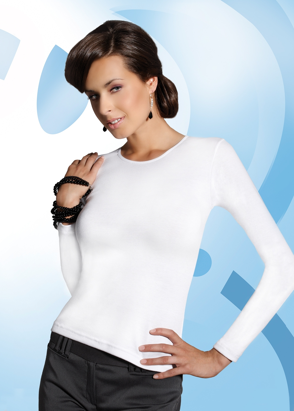 Košilka Babell Viva Barva: bílá, Velikost: XXL