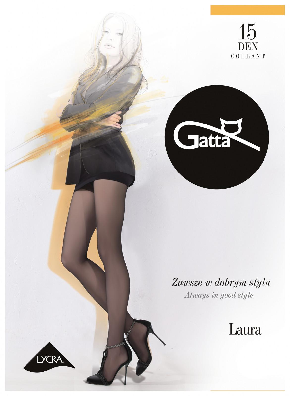 Punčochové kalhoty Gatta Laura 15 den 6-XXL Barva: tmavě šedá/odstín šedé, Velikost: 6-XXL