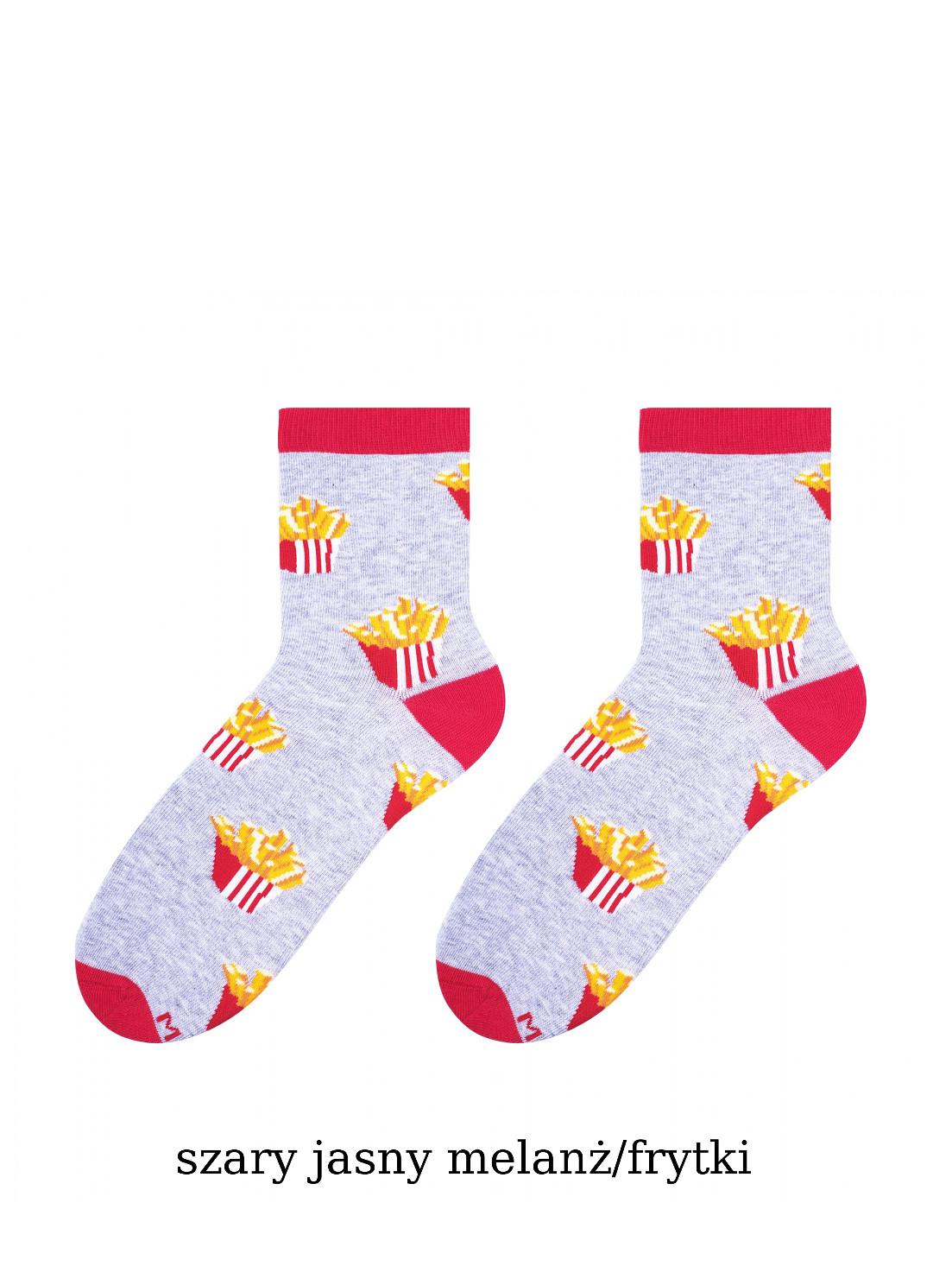 Dámské ponožky More Fastfood 078 zelená 39-42