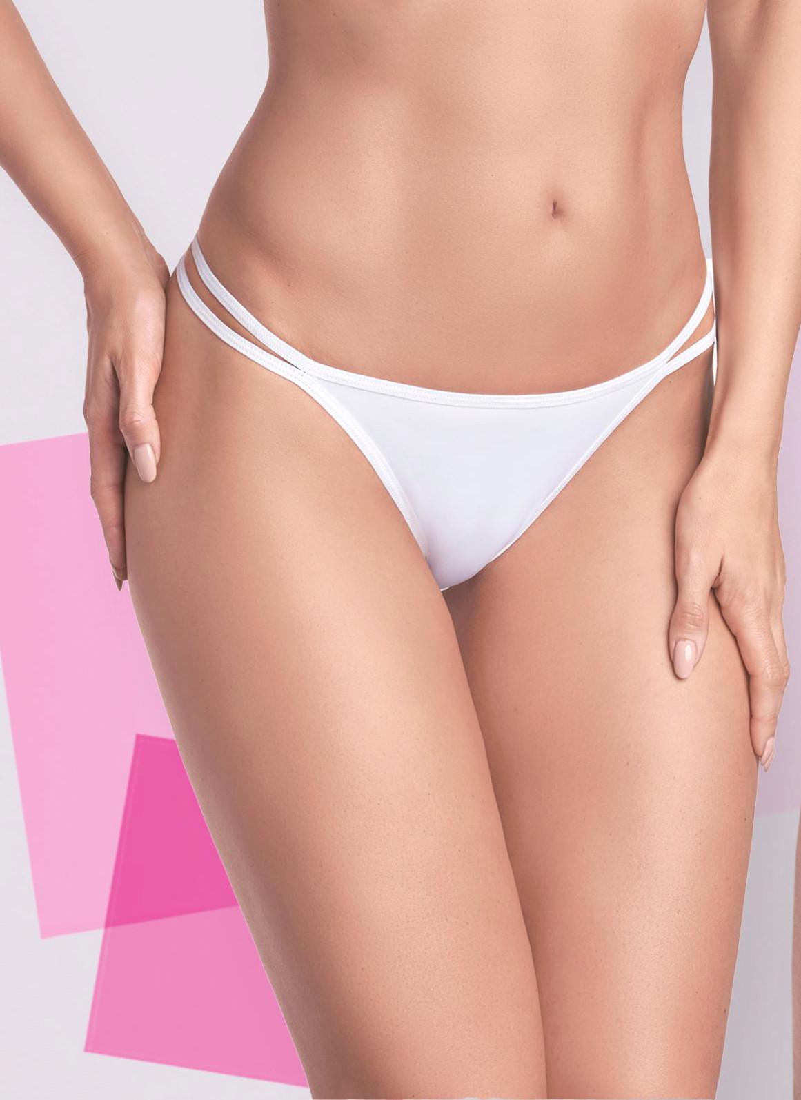 Kalhotky string Ewana N 008 Barva: bílá, Velikost: M