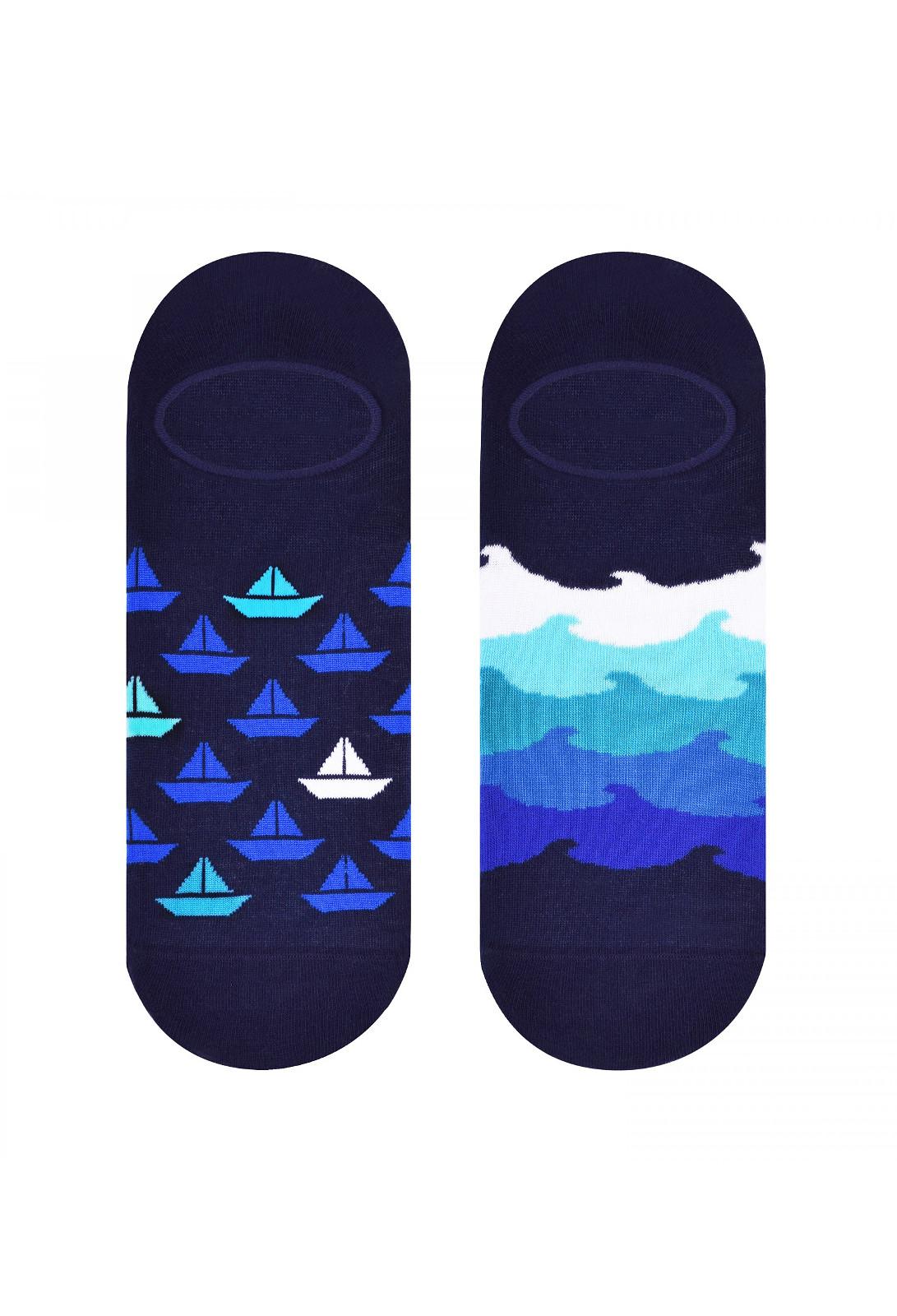 Pánské nízké ponožky More 098 zelená 39-42