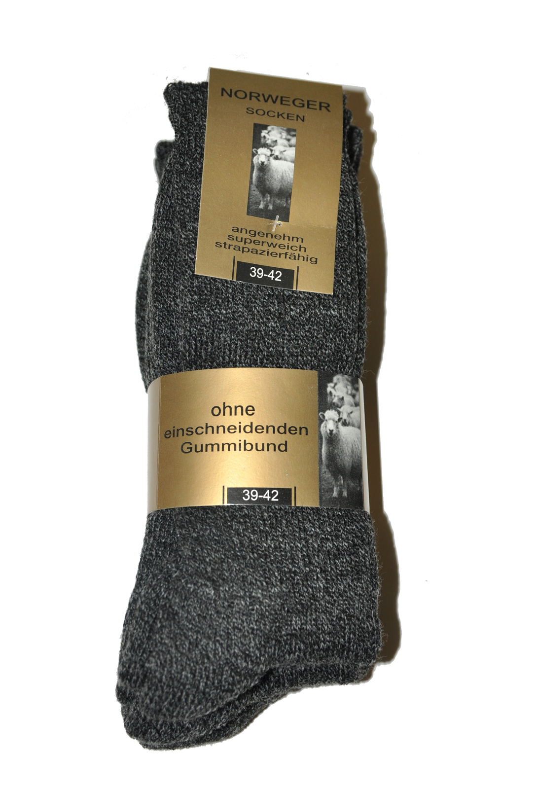 Pánské ponožky WiK 20310 Norweger Socken A 3 Barva  tmavě šedá 610818630f
