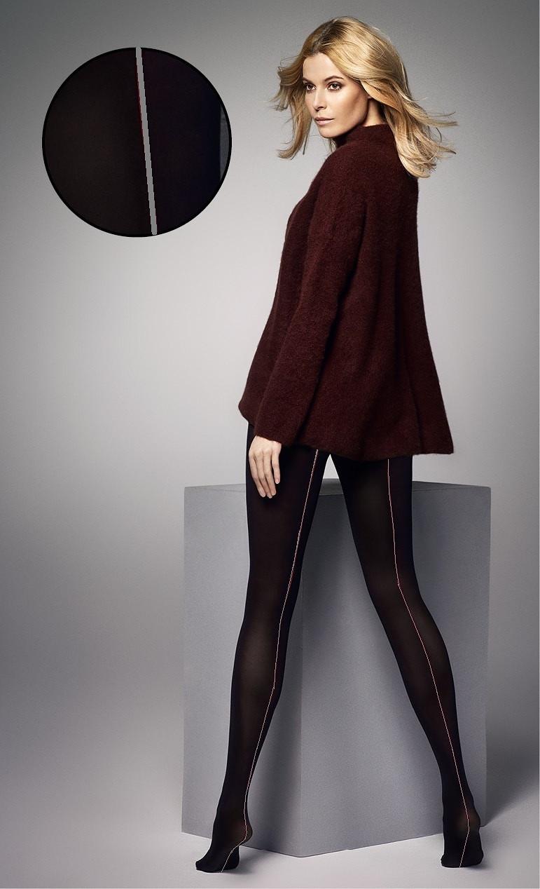 Dámské punčochové kalhoty Veneziana Amber 60 den Barva: černá/šedá, Velikost: 2-S