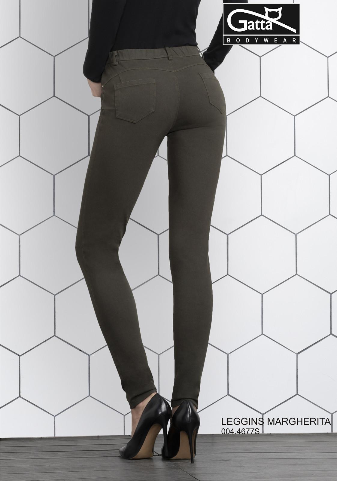 Dámské kalhoty Gatta 44677S Margherita graphite odstín šedé XL cfef5705df