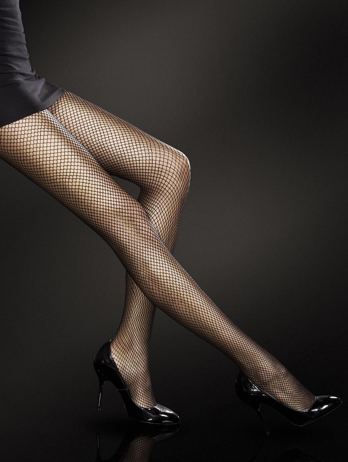 Punčochové kalhoty Fiore Greta Barva: černá, Velikost: 4-L