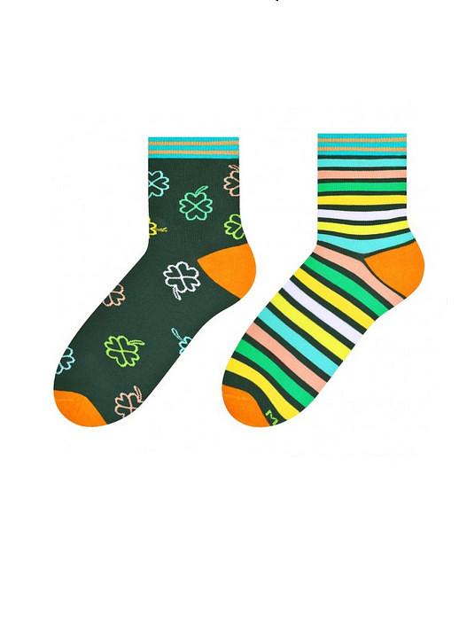 Dámské nepárové ponožky More 078 zelená 39-42