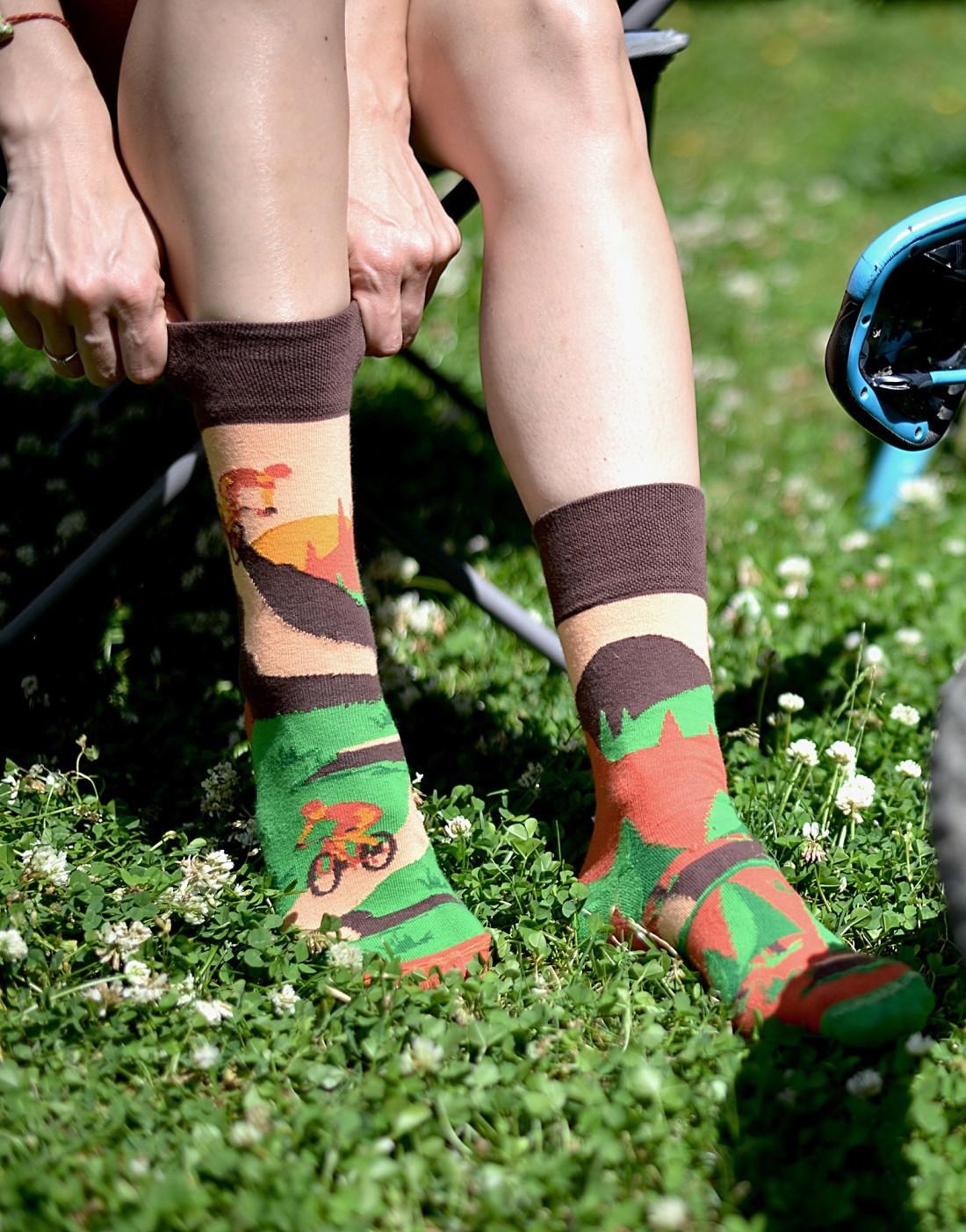 Ponožky Spox Sox - Jízdní kola multikolor 36-39