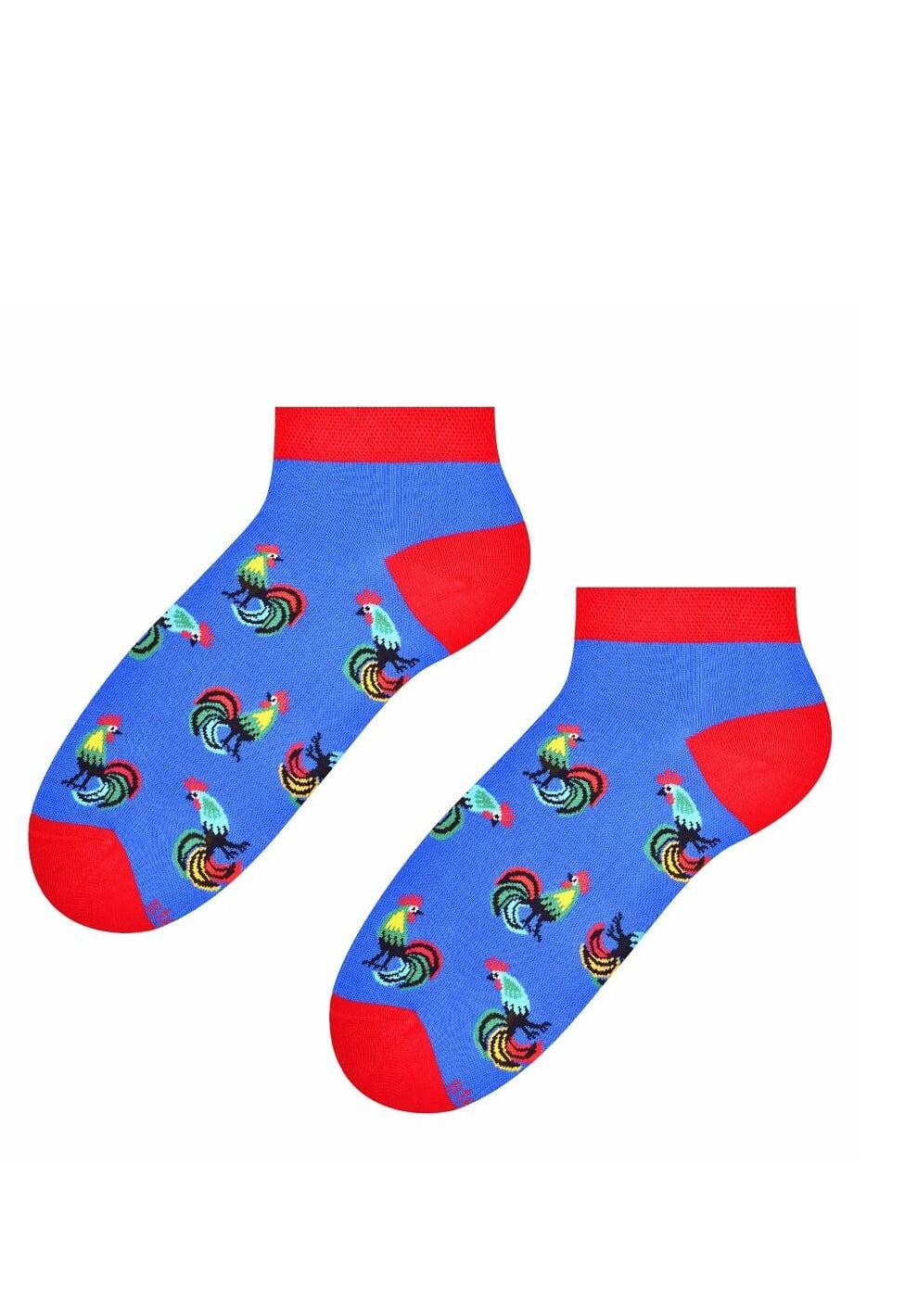 Pánské kotníkové ponožky Steven Folk art.116 zelená 39-42