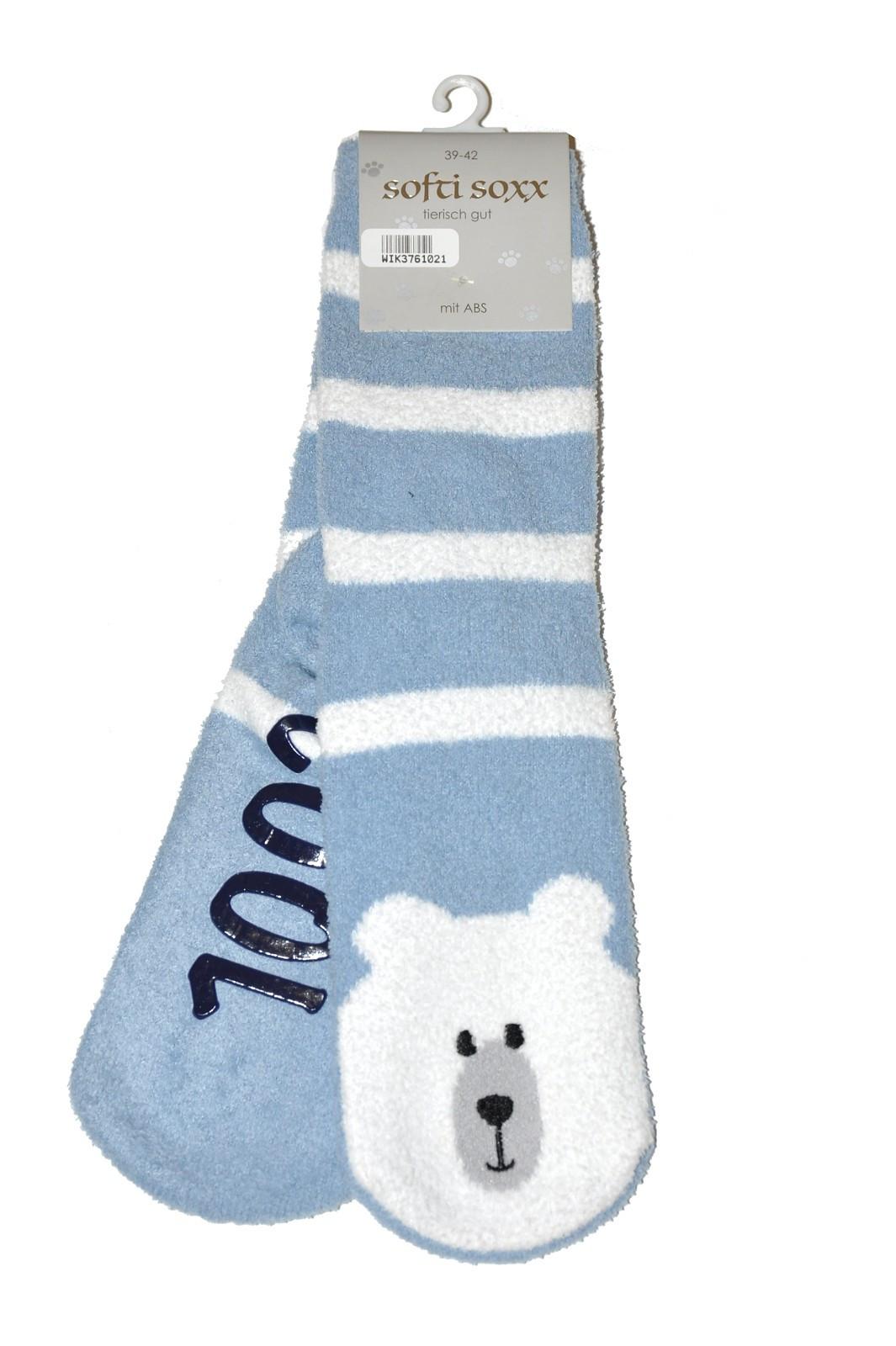 Levně Unisex ponožky WiK 37610 Softi Soxx A'2 ABS černá 39-42