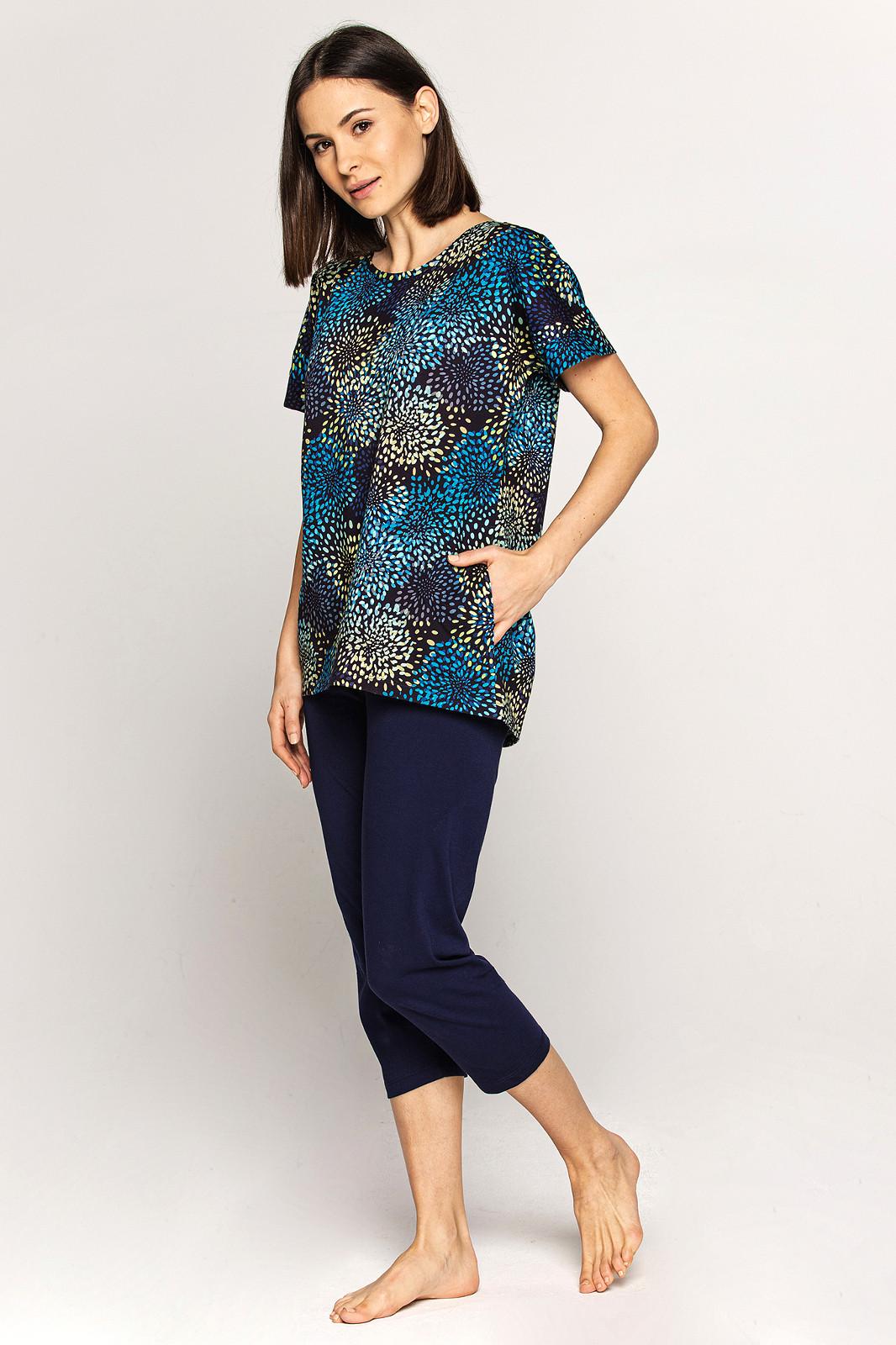 Dámske pyžamo Cana 562 kr / r S-XL námornícka modrá L